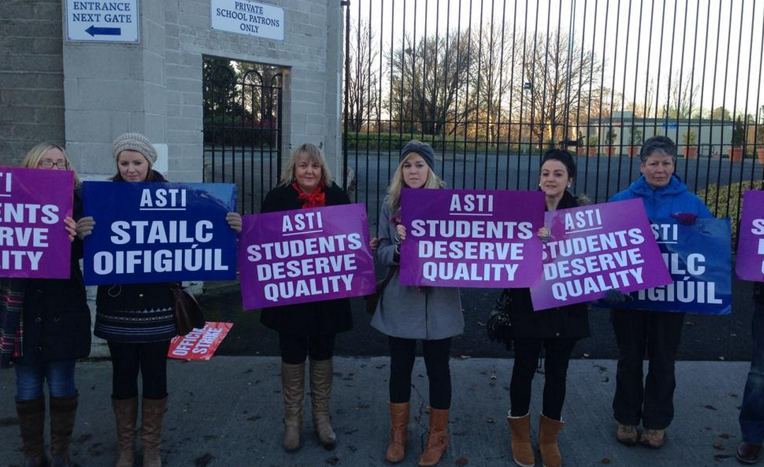 The Teachers Strike, Fool's Mate and Strategic Play in Education